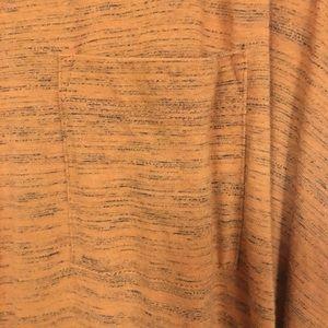 LuLaRoe Dresses - LuLaRoe Orange Heathered Carly